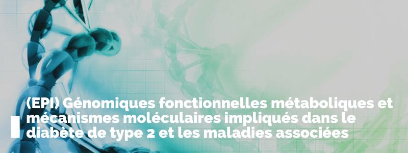 Génomiques fonctionnelles métaboliques